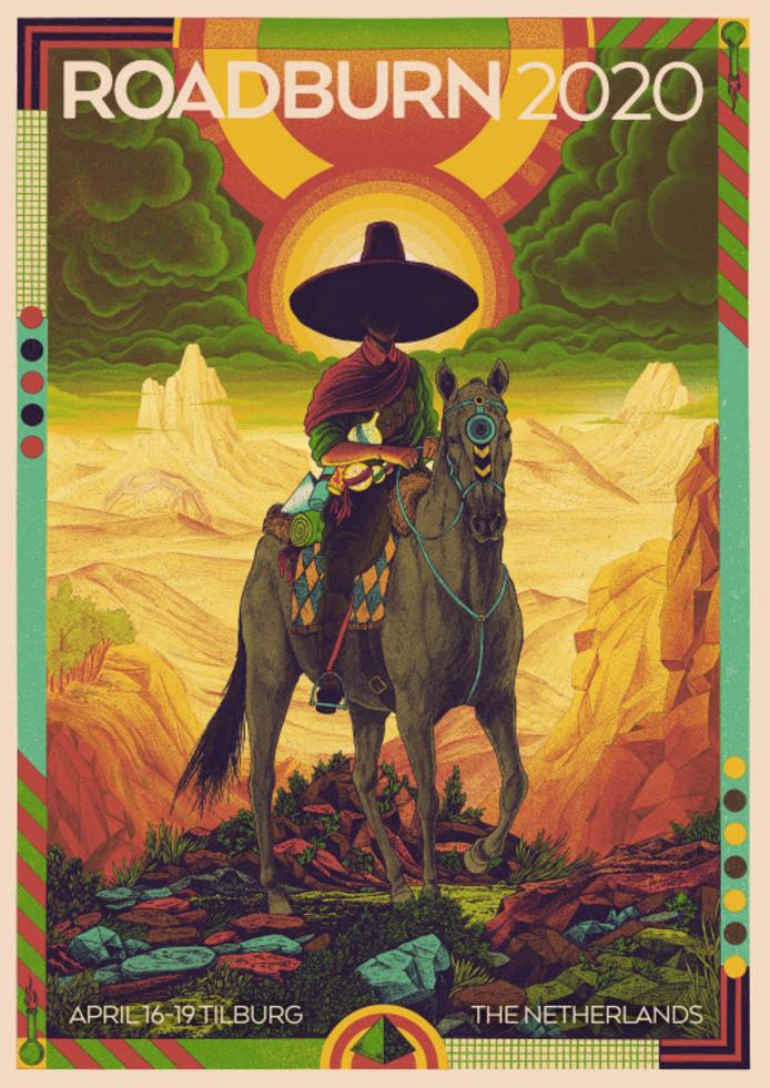Poster Roadburn Festival 2020 KEES